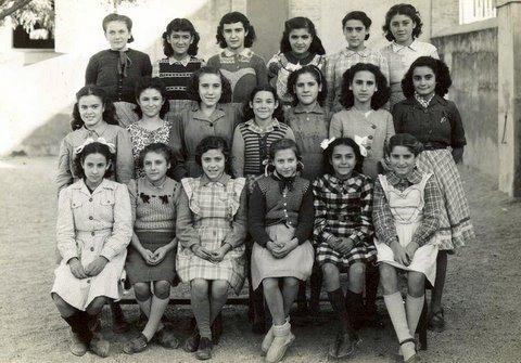 Année scolaire 1946-47 - Classe de Pierrette Sanchez
