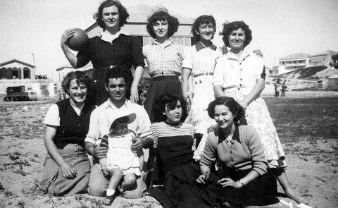 1949 - Famille Lopez-Sanchez et amis